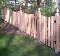 Rounded Fence