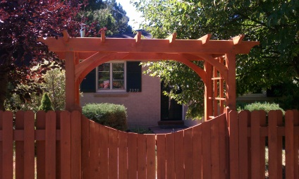 Fence Gate Design - Denver