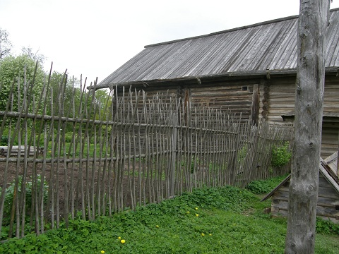 Russian Fence in Novgorod